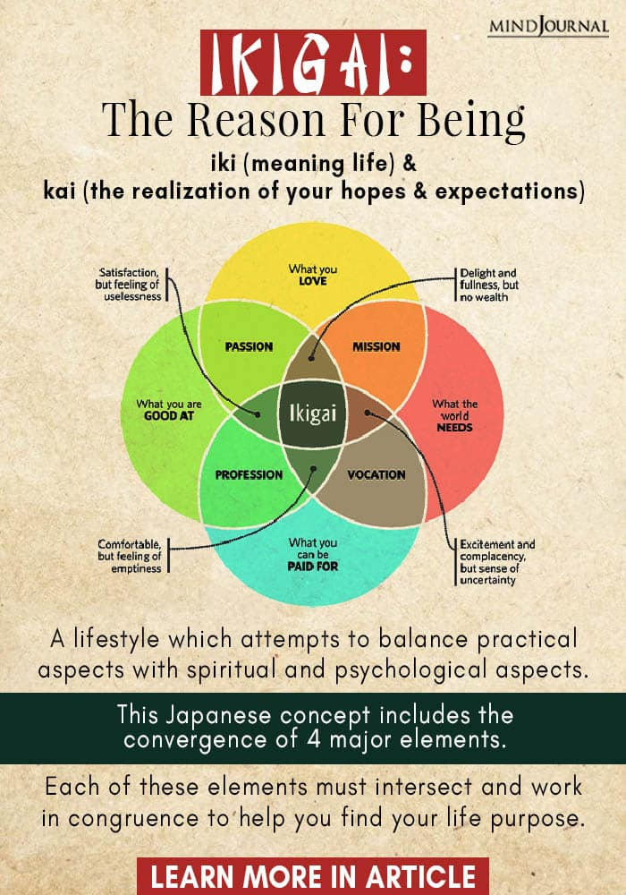 Ikigai Japanese Secret Transform Outlook Life Info