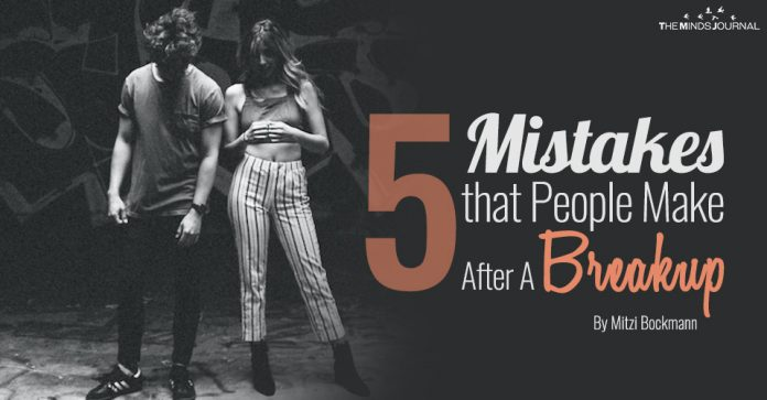 Mistakes After A Breakup