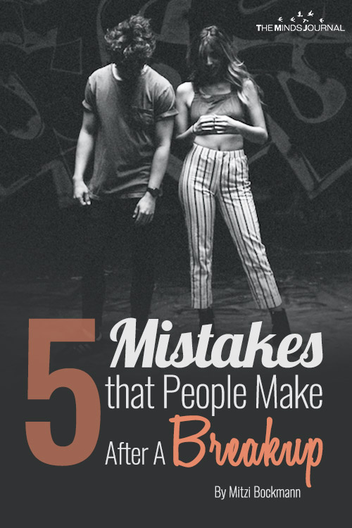 Mistakes After A Breakup pin