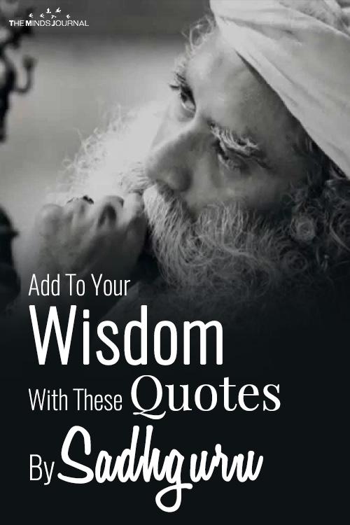 Quotes By Sadhguru pin