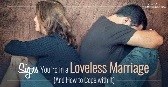 Signs You're in a Loveless Marriage (And How to Cope with It)