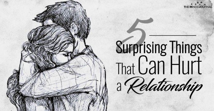 Things Hurt Relationship