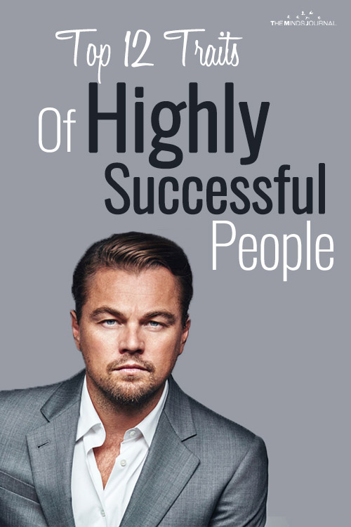 Traits of Highly Successful People pin