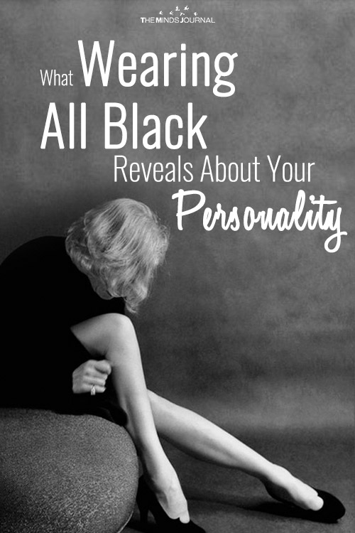 What Wearing All Black Reveals About Your Personality