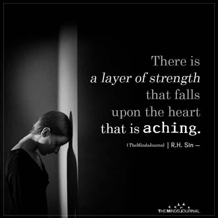 There Is A Layer Of Strength