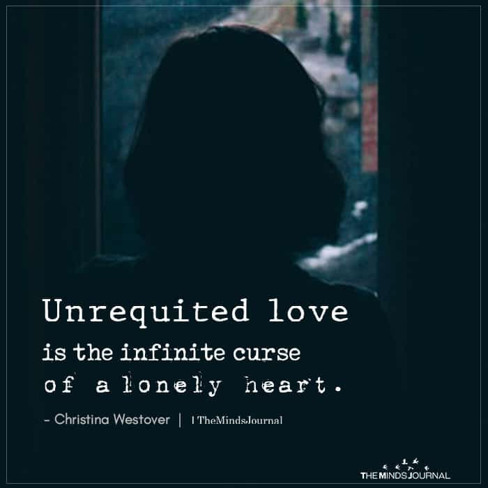 Unrequited Love Is The Infinite Curse