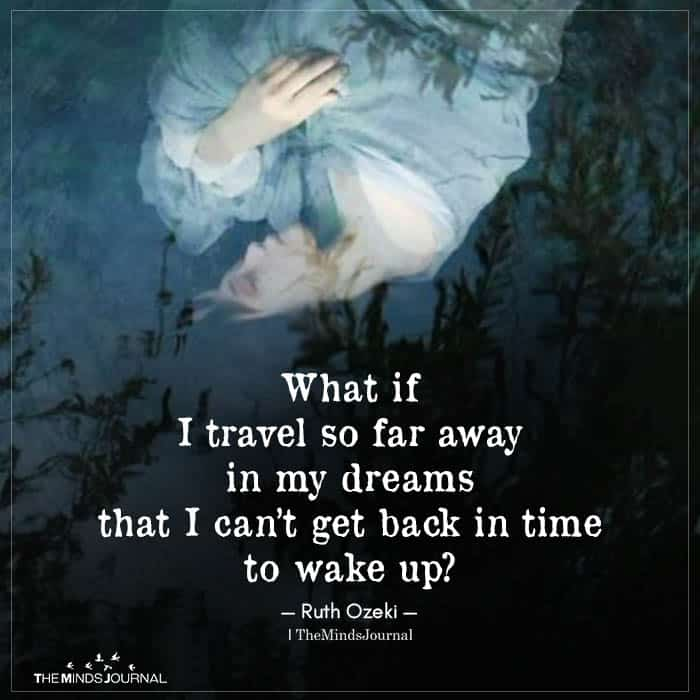 What If I Travel So Far Away
