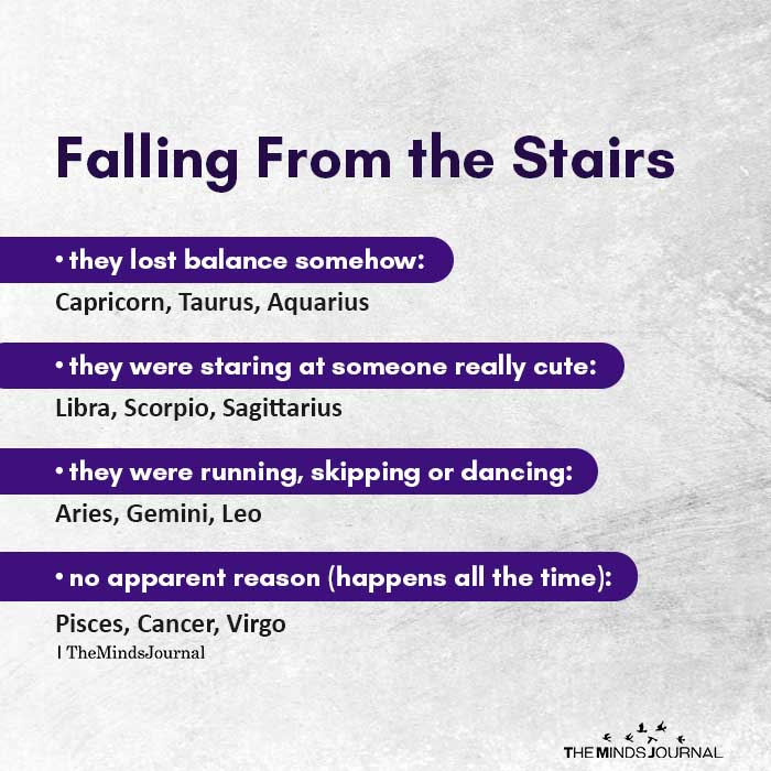 Falling From the Stairs
