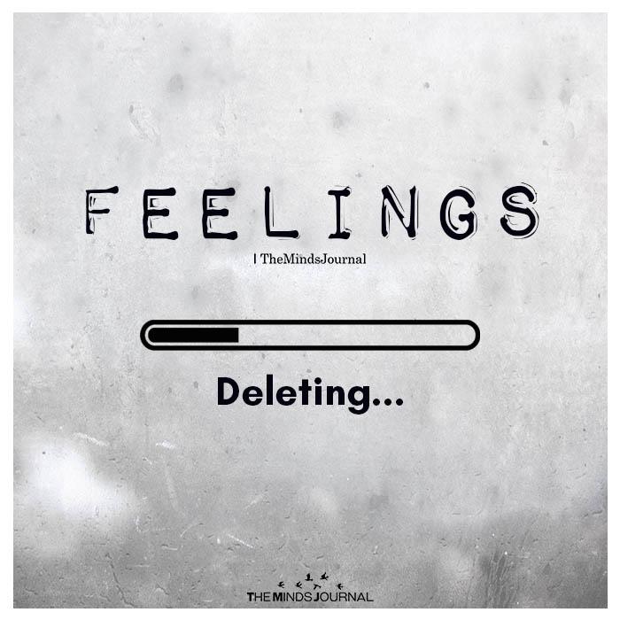 Feelings Deleting