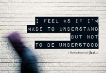 i feel as