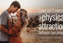 love isnt physical attraction