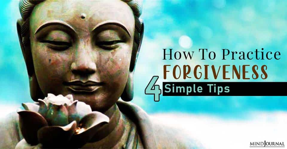 practice forgiveness and be happier
