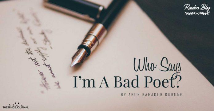 readers blog bad poet