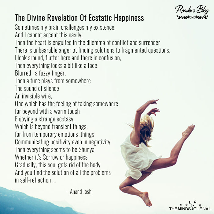 The Divine Revelation Of Ecstatic Happiness