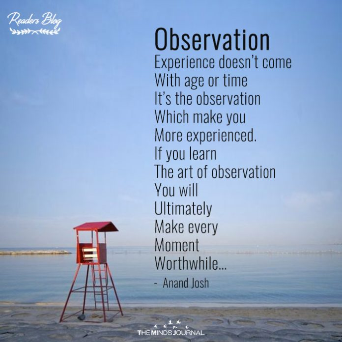 readers blog observation