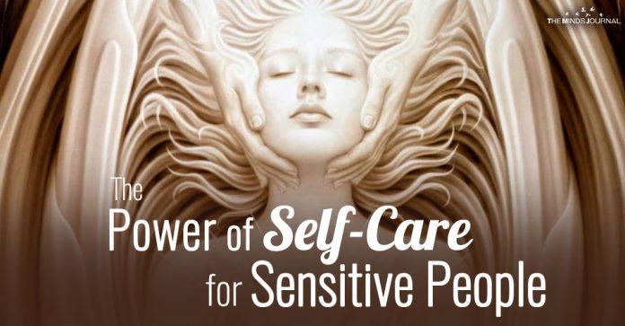 self care for sensitive people