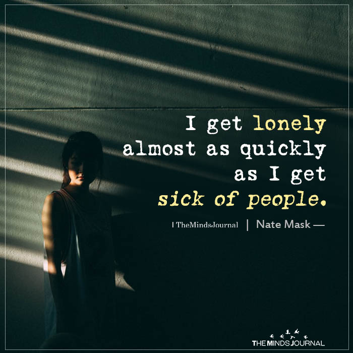I Get Lonely