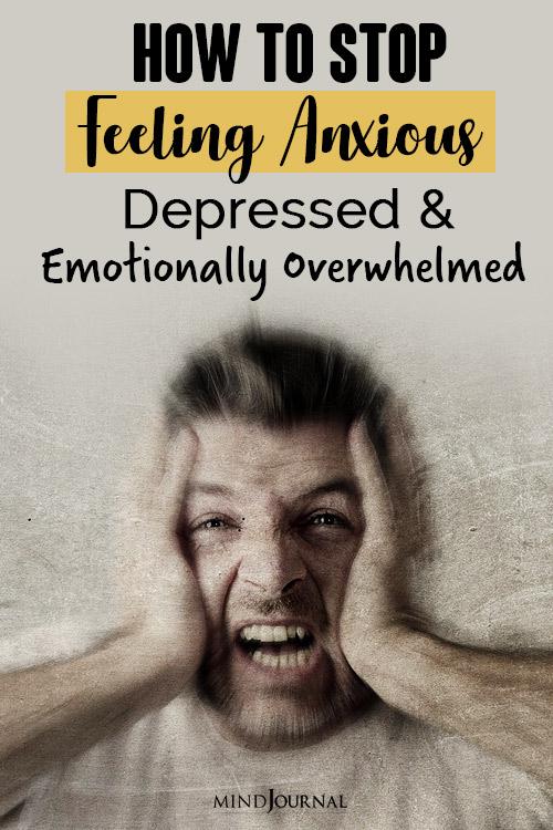 stop feeling anxious pin