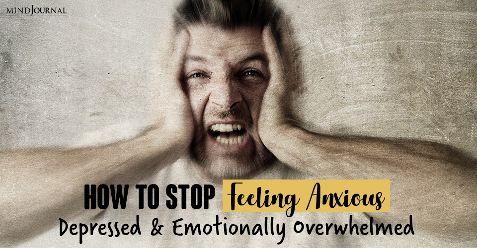 stop feeling anxious