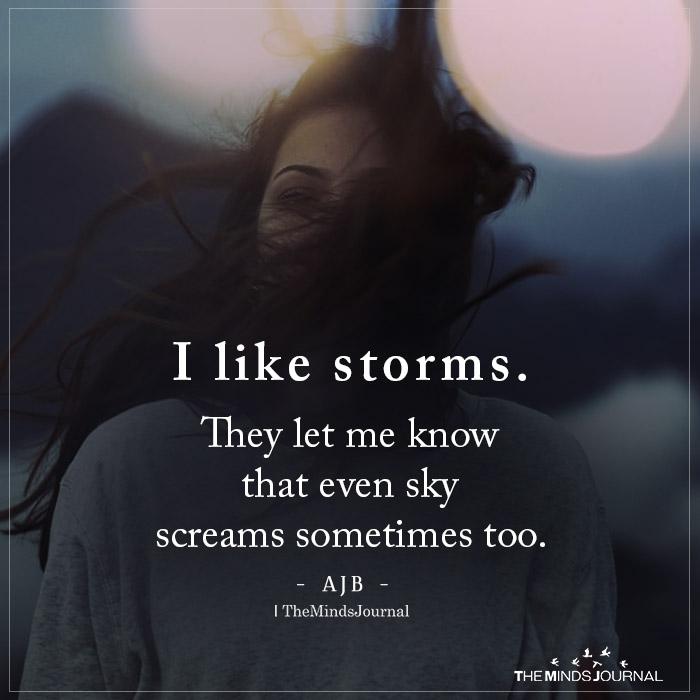 I Like Storms