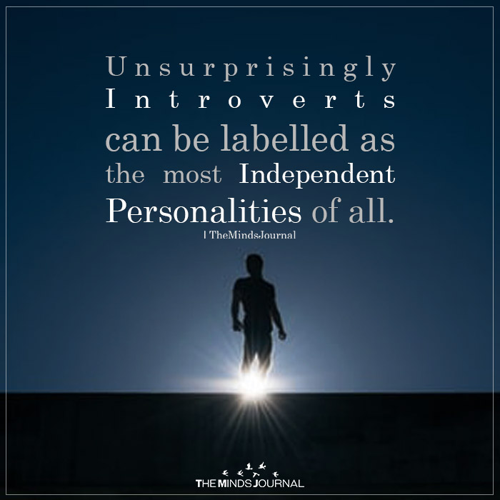 Unsurprisingly Introverts Can Be Labelled