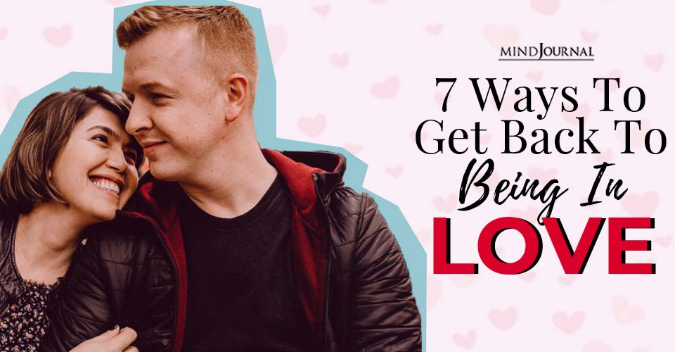 ways to get back to being in love