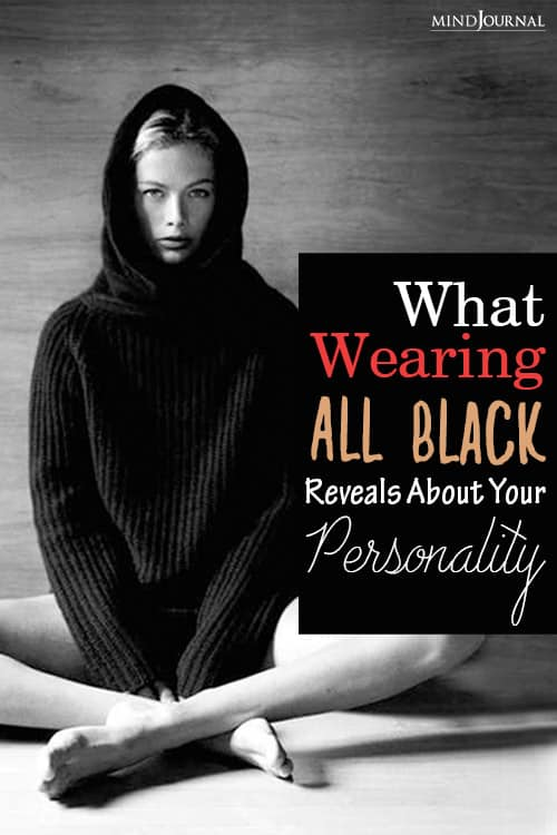 wearing black reveals your personality pinop