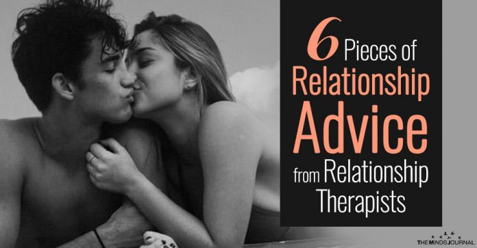 6 Pieces of Relationship Advice from Relationship Therapists