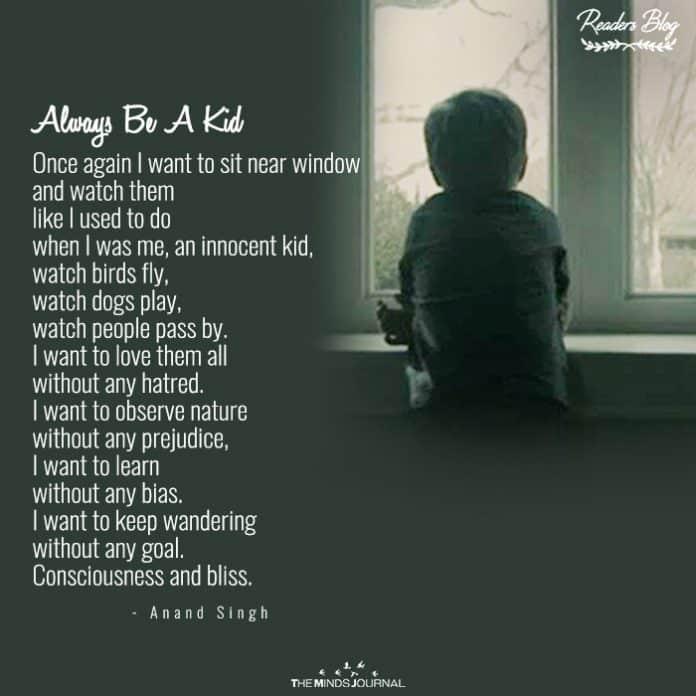 Always Be A Kid