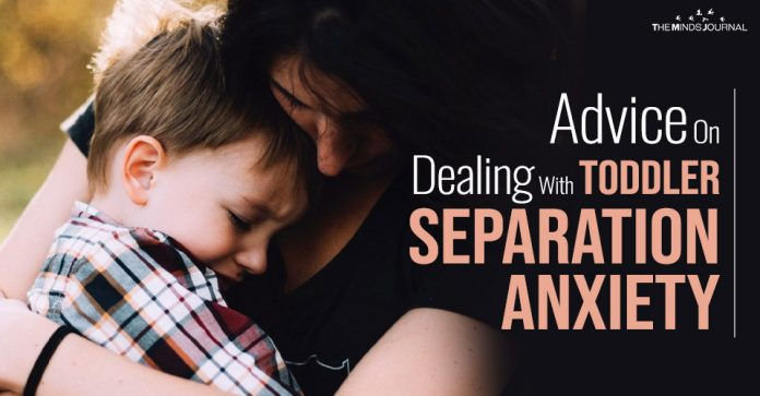 Dealing With Toddler Separation Anxiety