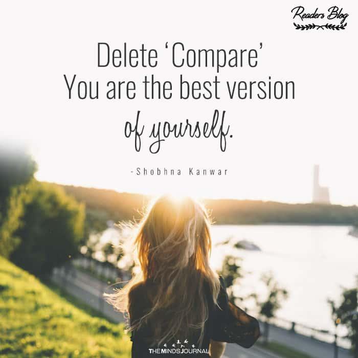 Delete 'Compare'