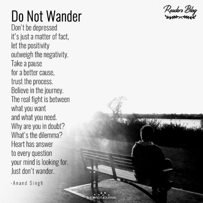 Do Not Wander