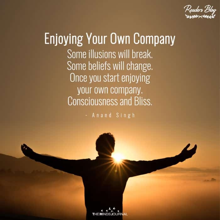 Enjoying Your Own Company