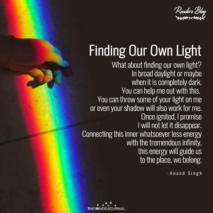 Finding Our Own Light