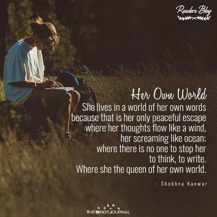 Her Own World