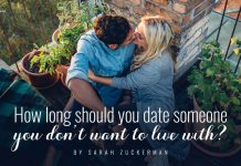 How long should you date someone you don_t want to live with