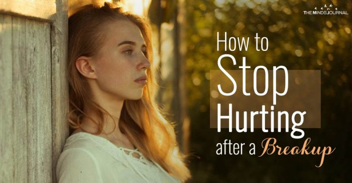 How to Stop Hurting after a Breakup