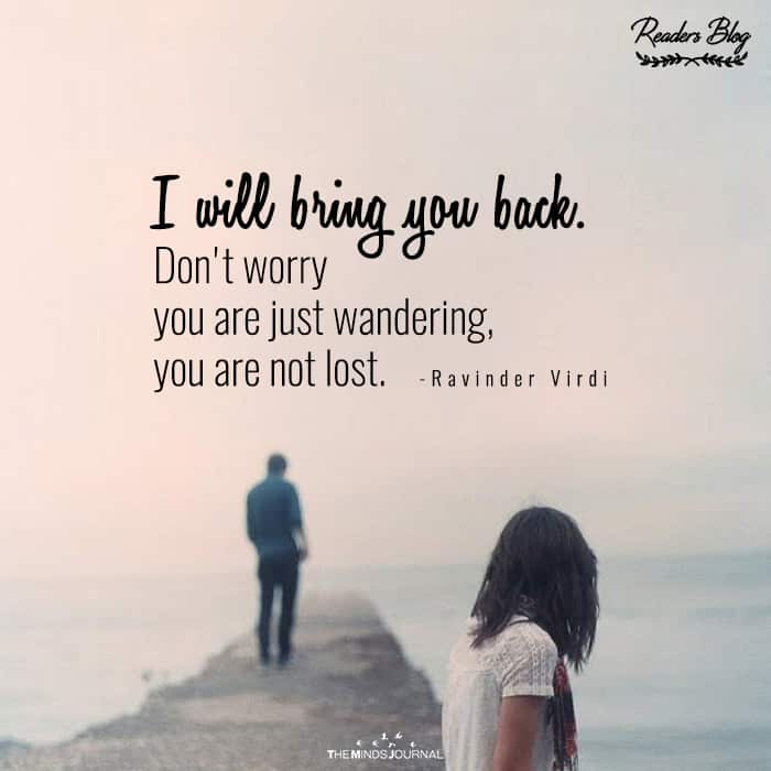 I Will Bring You Back