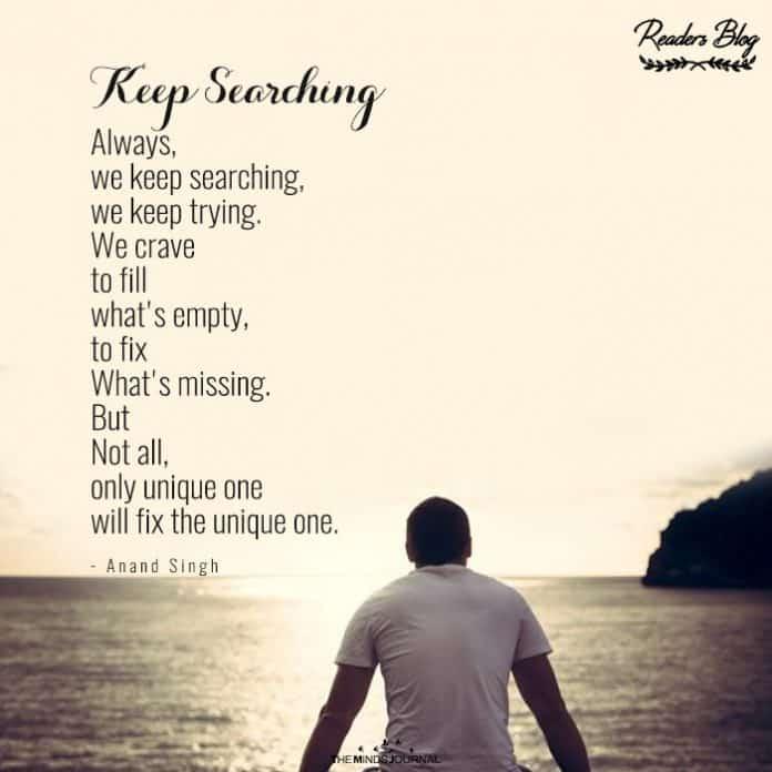 keep searching
