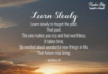 Learn Slowly