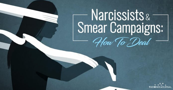 Narcissists and Smear Campaigns: How To Deal