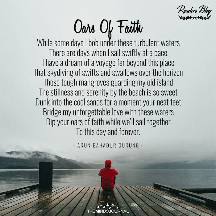 Oars Of Faith