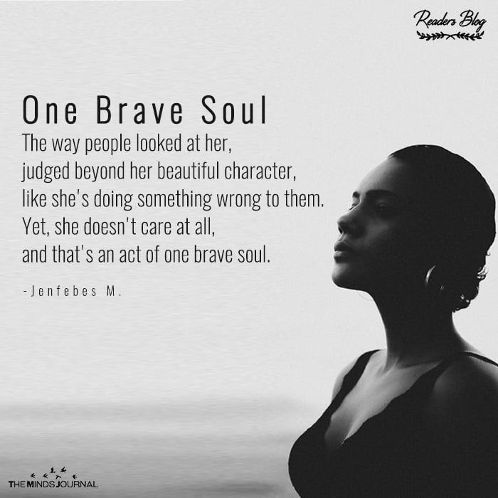 One Brave Soul
