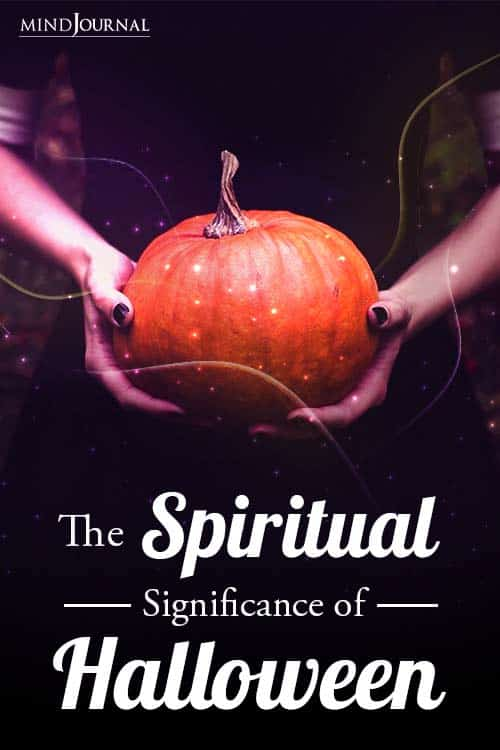 Spiritual Significance Halloween pin
