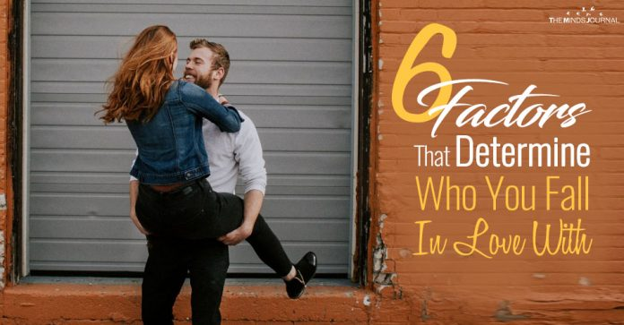The 6 Factors That Determine Who You Fall In Love With and Why