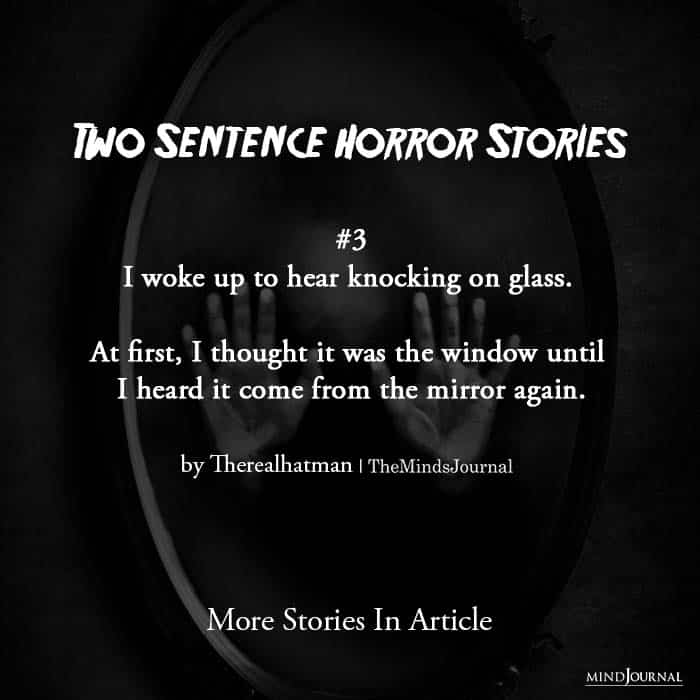 Two Sentence Horror Stories third story