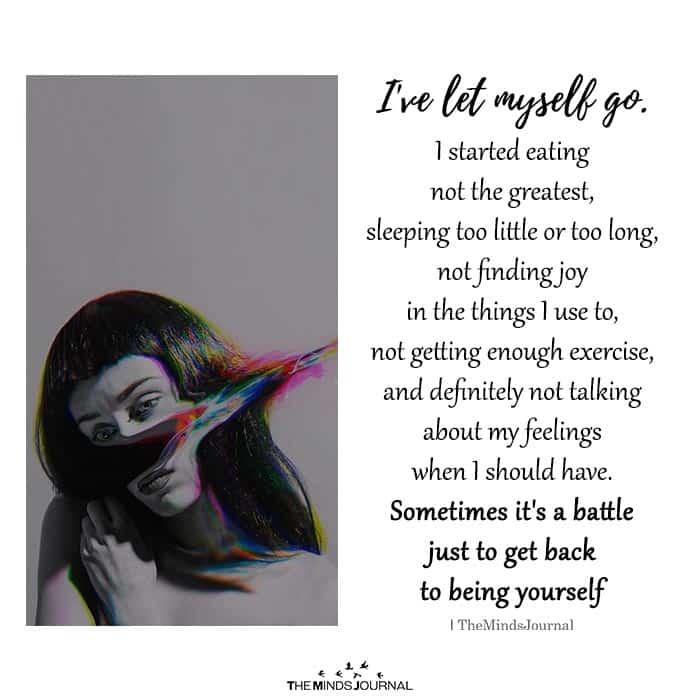 I've Let Myself Go