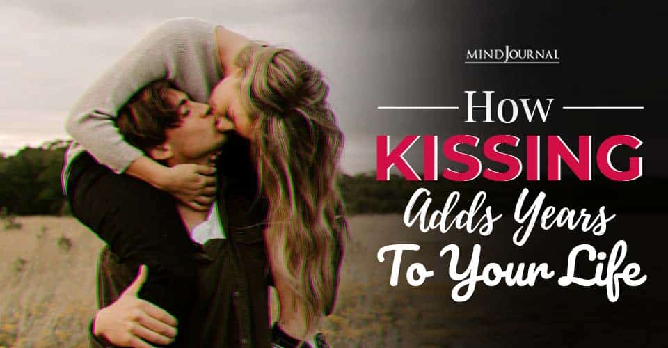 how kissing adds years to your life
