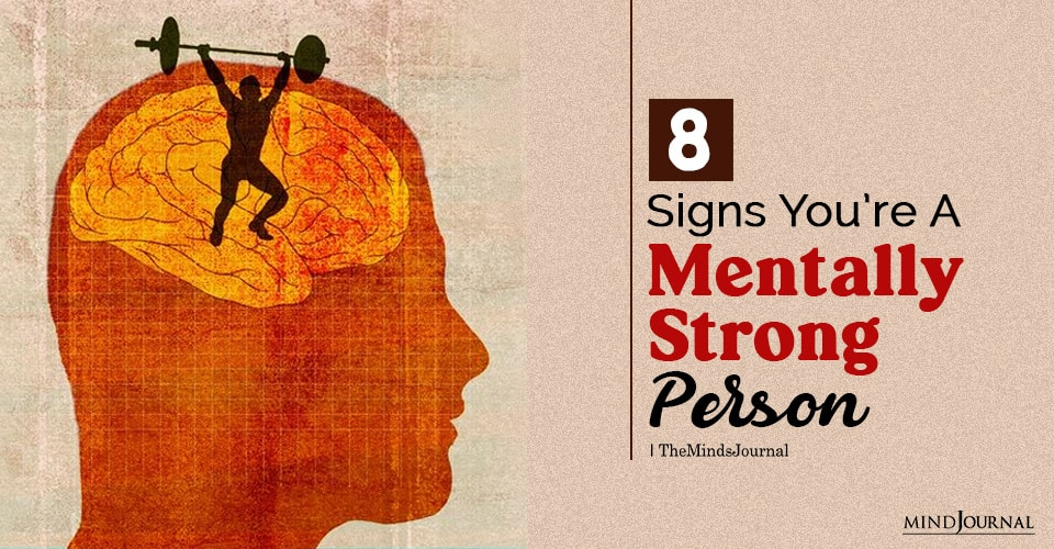 mentally strong person