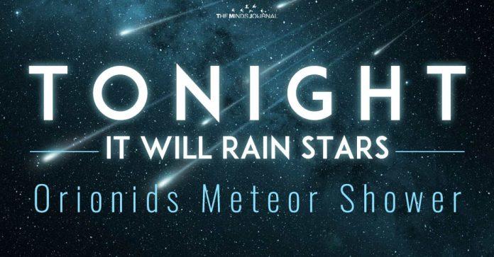 orionids meteor shower peak before dawn